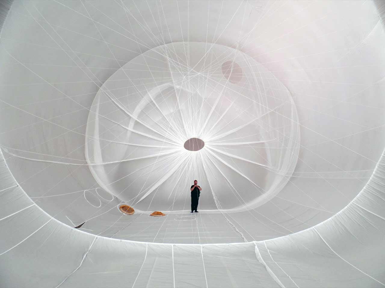 Im Inneren des SkyDragons