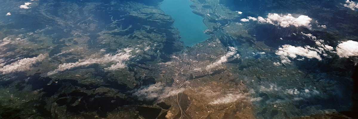 Luftaufnahme Höhenplattform